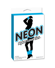 Neon Nylon Love Ties 2